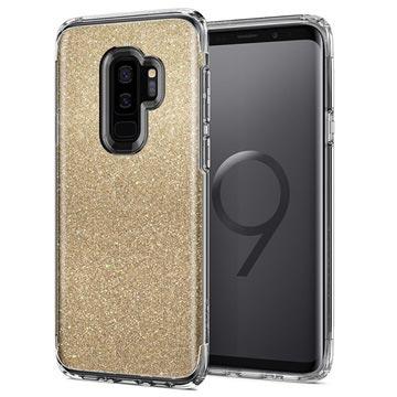 check out 5dbfc fa211 Spigen Slim Armor Crystal Glitter Samsung Galaxy S9+ Case - Gold