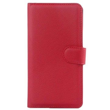 Huawei Honor 7 Textured Wallet Case - Red