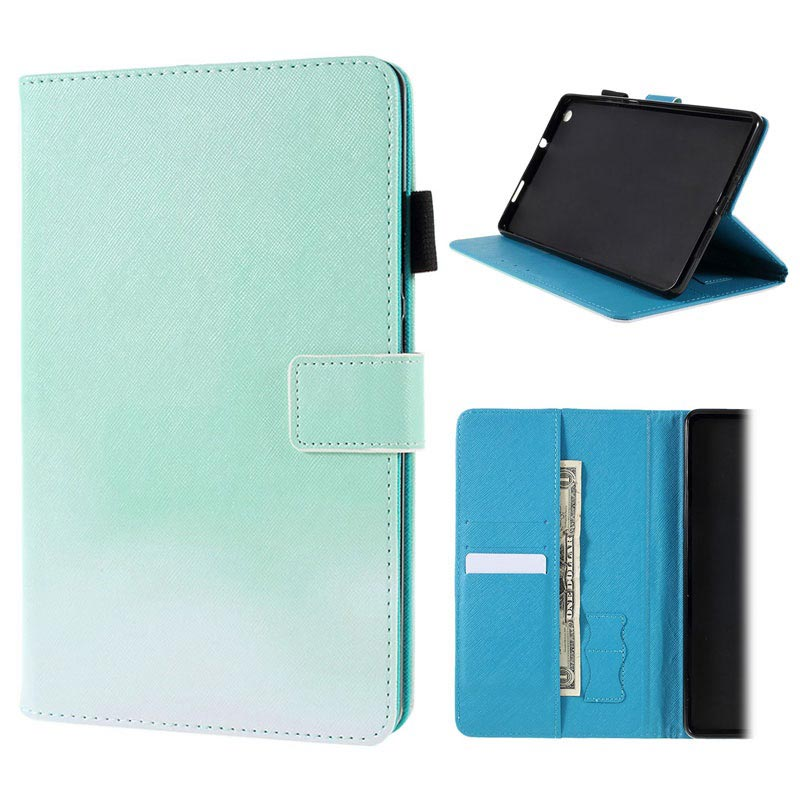 the latest 4e45b 3ed48 Huawei MediaPad M3 Lite 8 Folio Case with Stand Feature - Mint