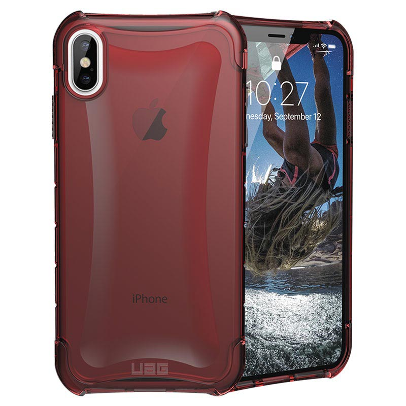 UAG Plyo Series iPhone XS Max Hybrid Case - Red