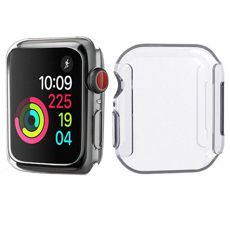 newest 71996 b09d7 Apple Watch Series 4 Ultrathin TPU Case - 44mm - Transparent