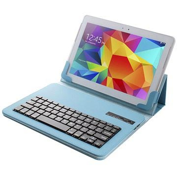 Universal Tablet Bluetooth Keyboard & Leather Case - 10.1""