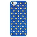 iPhone 5 / 5S / SE Puro Rock Round and Square Studs Case - Blue