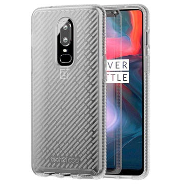 best website 0ac84 b3872 tech21 Evo Shell OnePlus 6 Protective Case - Clear