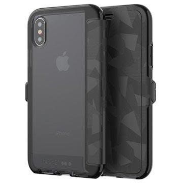 best authentic ad46a 243e5 iPhone X tech21 Evo Wallet Case - Black