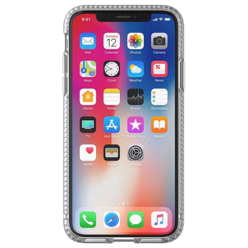 best service 3a1e7 e752d iPhone X tech21 Pure Clear Protective Case - Clear