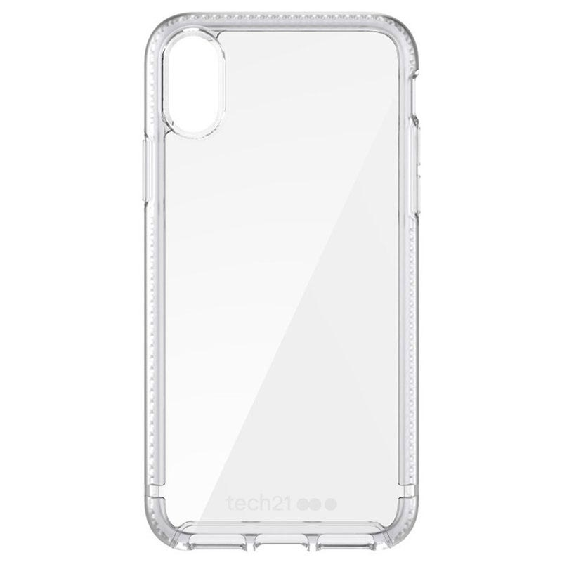 best service 3a1e7 e752d iPhone X tech21 Pure Clear Protective Case - Clear